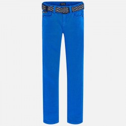 Mayoral Spodnie 7514-94 z paskiem dla chłopa super slim fit