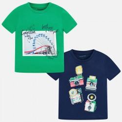 Bluzka Mayoral 3044-44 Zestaw koszulek z krótkim rękawem dla chłopca