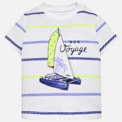Bluzka Mayoral 1018-73 Koszulka z krótkim rękawem i nadrukiem dla chłopca