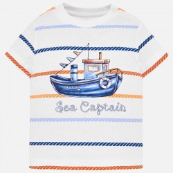 Bluzka Mayoral 1018-74 Koszulka z krótkim rękawem i nadrukiem dla chłopca