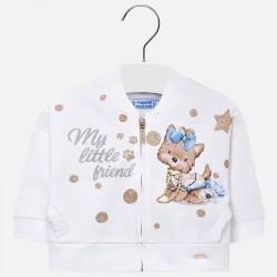 Bluza Mayoral 1420-48 Bluza grafika dla dziewczynki Baby