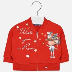 Bluza Mayoral 1420-49 Bluza grafika dla dziewczynki Baby
