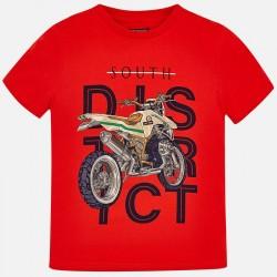 Bluzka Mayoral 6049-64 Koszulka z krótkim rękawem Motor dla chłopaka