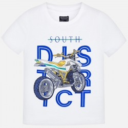 Bluzka Mayoral 6049-65 Koszulka z krótkim rękawem Motor dla chłopaka