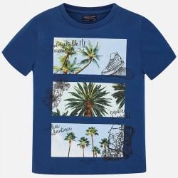 Bluzka Mayoral 6034-31 Koszulka z krótkim rękawem Palmy dla chłopca