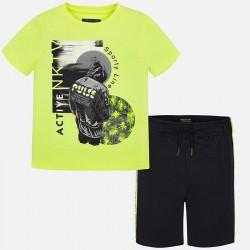 Komplet Mayoral 6603-20 Komplet koszulka i bermudy ACTIVE dla chłopaka