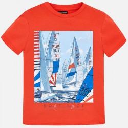 Bluzka Mayoral 6032-54 Koszulka z krótkim rękawem z nadrukiem dla chłopca