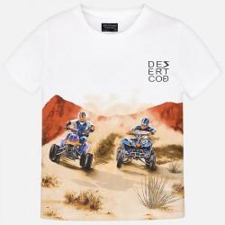 Bluzka Mayoral 6035-75 Koszulka z krótkim rękawem Quady dla chłopca