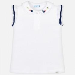 Bluzka Mayoral 3101-39 Koszulka polo na ramiączkach z detalami dla dziewczynki