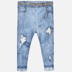 Spodnie Mayoral 1739-62 Leginsy długie z dziurami dla dziewczynki Baby