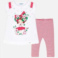 Komplet Mayoral 3709-49 Komplet koszulka i leginsy dla dziewczynki