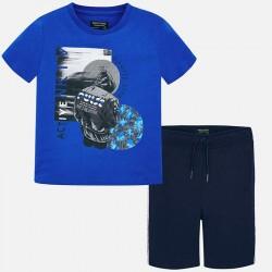 Komplet Mayoral 6603-22 Komplet koszulka i bermudy ACTIVE dla chłopaka