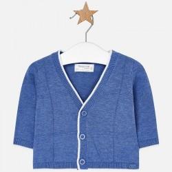 Mayoral sweterek 1306-95 Rozpinany sweter z dzianiny dla chłopca Newborn