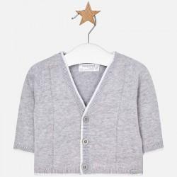 Mayoral sweterek 1306-96 Rozpinany sweter z dzianiny dla chłopca Newborn