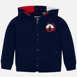 Bluza Mayoral 3427-22 Bluza z kapturem z kontrastami dla chłopca