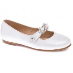 Buty komunijne dziewczęce Pablosky 333303 kolor biały