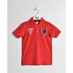 Bluzka Polo iDO W012 czerwona