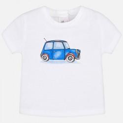 Bluzka Mayoral 1004-20 Koszulka z nadrukiem dla chłopca