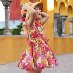 Sukienka Mayoral 3929-45 Sukienka z nadrukiem dla dziewczynki