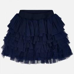 Spódnica Mayoral 3903-16 Spódnica tiulowa asymetryczna dla dziewczynki