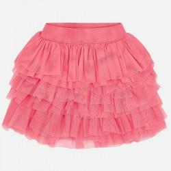 Spódnica Mayoral 3903-18 Spódnica tiulowa asymetryczna dla dziewczynki