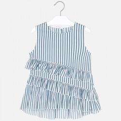 Bluzka Mayoral 6112-26 Bluzka z asymetrycznymi falbanami dla dziewczyny