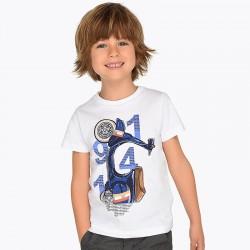 Bluzka Mayoral 3045-62 Koszulka z krótkim rękawem z grafiką dla chłopca
