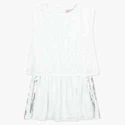 Sukienka BOBOLI 727590-1100 sukienka szyfonowa