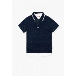 Bluzka polo BOBOLI 737412-9957 Koszulka polo chłopięca