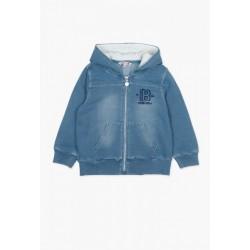 Bluza BOBOLI 517249-BLEACH Bluza chłopięca