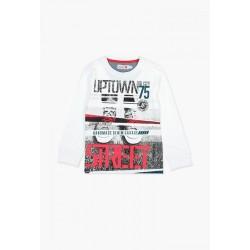 Bluzka BOBOLI 507002-1100 Koszulka chłopięca