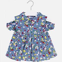 Bluzka Mayoral 3108-60 Bluzka we wzory z odkrytymi ramionami dla dziewczynki