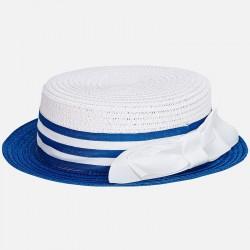 Mayoral kapelusz 10612-53 Kapelusz z kokardą dla dziewczynki