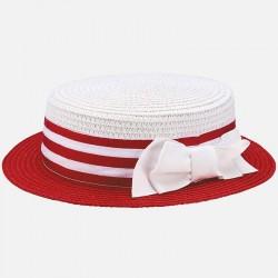 Mayoral kapelusz 10612-55 Kapelusz z kokardą dla dziewczynki