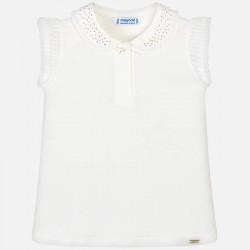 Bluzka Mayoral 3101-38 Koszulka polo na ramiączkach z detalami dla dziewczynki