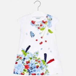 Sukienka Mayoral 3948-43 Sukienka z dzianiny dla dziewczynki