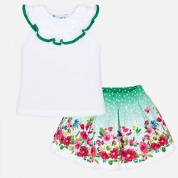 Komplet Mayoral 3961-14 Zestaw spódnica i koszulka dla dziewczynki