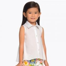 Bluzka Mayoral 3107-48 Luźna bluzka na ramiączkach dla dziewczynki