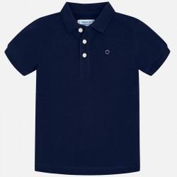 Bluzka Mayoral 150-20 Koszulka polo basic z krótkim rękawem dla chłopca