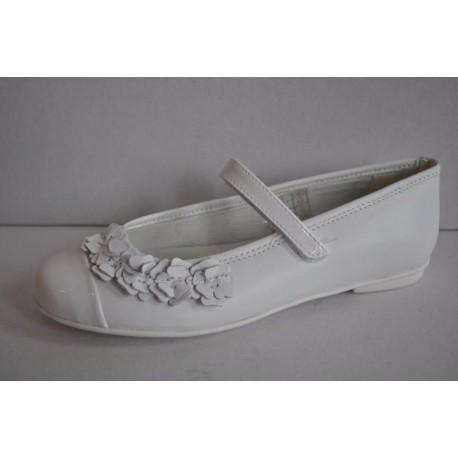 Buty do komunii dziewczęce Primigi 3437133 kolor biały r34, 36
