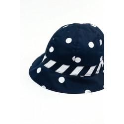 Kapelusz BOBOLI 707082-9048 Satynowy kapelusz dla dziewczynki