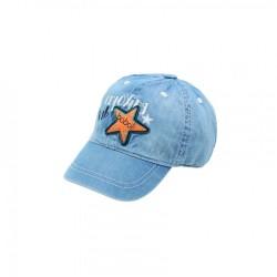 Czapka z daszkiem BOBOLI 327103-BLEAC czapka z daszkiem dla chłopaka