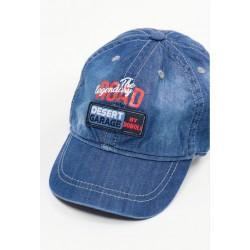 Czapka z daszkiem BOBOLI 327103-BLUE czapka z daszkiem dla chłopaka