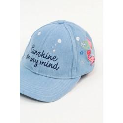 Czapka z daszkiem BOBOLI 827524-BLEAC czapka z daszkiem dla dziewczynki