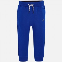 Spodnie Mayoral 742-70 dresowe niebieskie wiązane w pasie model wiosenno letni cieńszy materiał
