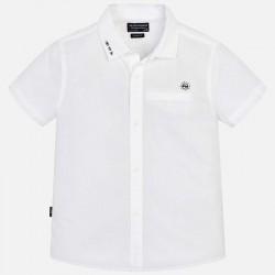 Bluzka Mayoral 6124-14 Koszula z krótkim rękawem i kieszonką dla chłopaka
