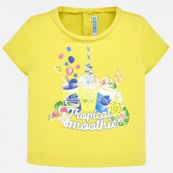 Bluzka Mayoral 1010-34 Koszulka z krótkim rękawem lalka dla dziewczynki Baby