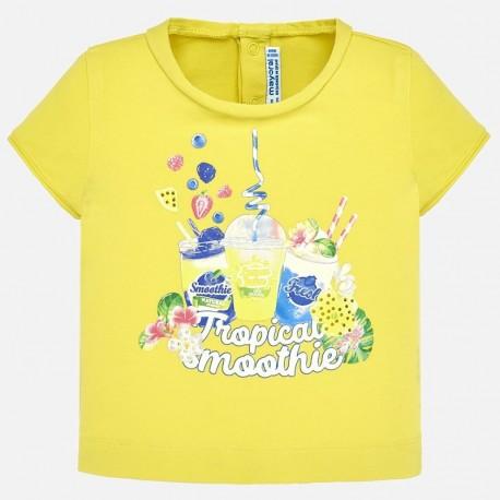5db8ac48a Bluzka Mayoral 1010-34 Koszulka z krótkim rękawem lalka dla dziewczynki Baby