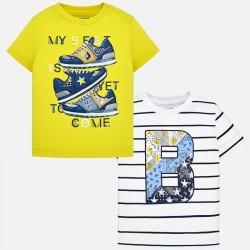 Bluzka Mayoral 1022-71 Zestaw koszulek z krótkim rękawem dla chłopca Baby
