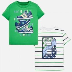 Bluzka Mayoral 1022-72 Zestaw koszulek z krótkim rękawem dla chłopca Baby